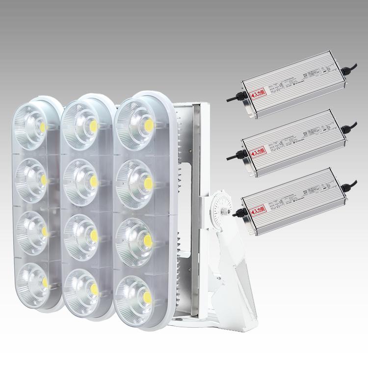 大型LED 3000 重耐塩投光器型【縦型】(透明)