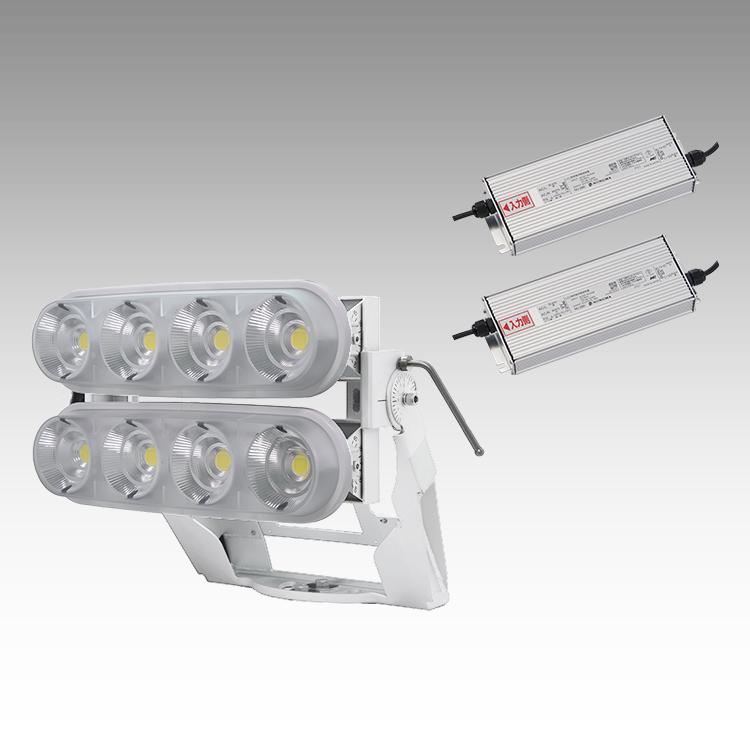 大型LED 2000 重耐塩投光器型【横型】(透明)