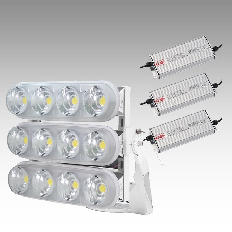 大型LED 3000 重耐塩投光器型【横型】(透明)