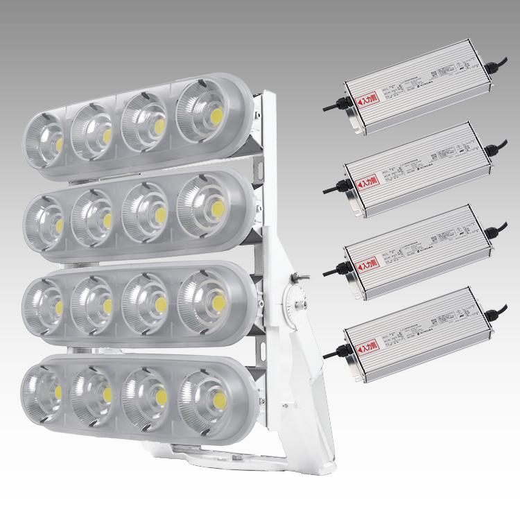 大型LED 4000 重耐塩投光器型【横型】(透明)