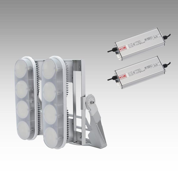 大型LED 2000 投光器型【縦型】(乳白)