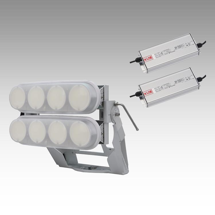 大型LED 2000 投光器型【横型】(乳白)