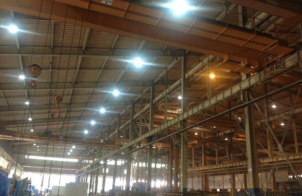 工場(屋内) 高天井LED【BT】