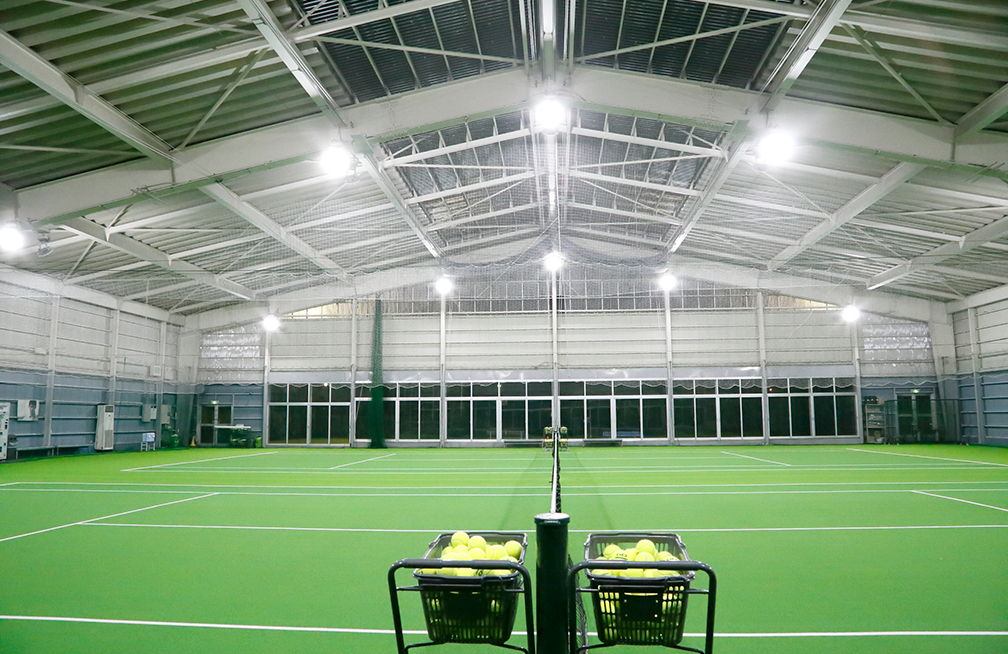 テニスコート(屋内) 高天井LED【CR】